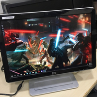 """Used HP 19"""" monitor with sound *VGA only in Dubai, UAE"""