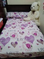 Used Wooden frame double bed in Dubai, UAE