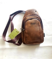 Used Jeep Leather Chest Bag with USB Outlet in Dubai, UAE