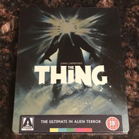 Used RARE! THE THING LIMITED STEELBOOK bluray in Dubai, UAE
