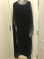 Used Black dress with dots in Dubai, UAE