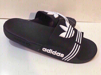 Used Adidas slippers,size 42, new  in Dubai, UAE