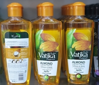 Used Vatika naturals almond enriched hair oil in Dubai, UAE