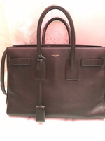 Used YSL Sac de Jour mini - dark brown in Dubai, UAE