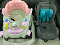 Used Used Baby walker and car seat in Dubai, UAE