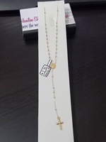 Used Rosary two tones 2.70 grams 18k gold in Dubai, UAE