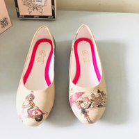 Used GOBY EUR 40 flat leatherette doll shoes in Dubai, UAE