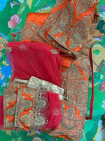 Used New Lehenga, unstitched,  in Dubai, UAE