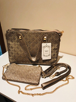 Used Gold/Grey handbag in Dubai, UAE