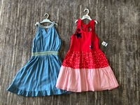 Used 2 dresses for a girl size 8/9 years old  in Dubai, UAE