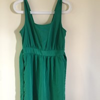 Used Green #dress #forever21 #wornonce #almostnew in Dubai, UAE