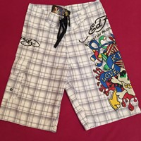 Used Edd Hardy Men's Board Short Size 28 Please Check Bonta Other Items All Brand New Never Worn High Quality Brands in Dubai, UAE