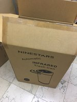 Used NINE STAR infrared trash can  automatic in Dubai, UAE