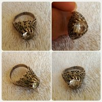 Authentic old diamond ring antique