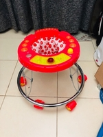 Used Stylish 6 wheeled portable baby walker in Dubai, UAE