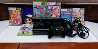 Used Xbox 360 console set/games and wires in in Dubai, UAE
