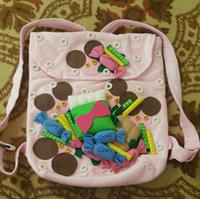 Hand Made Girls Candy  Back Pack
