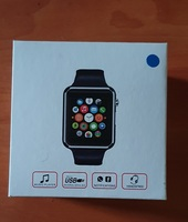 Used Smart watch new. Blue color in Dubai, UAE