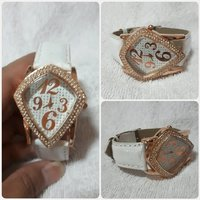 Used Fabulous white watch for lady. in Dubai, UAE