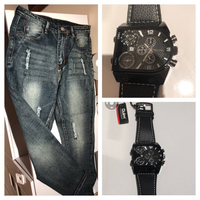 Jeans + watch bundle offer