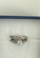 Used 925 stamped real silver engagement ring in Dubai, UAE