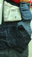 Used Clothes - 4 Trousers and 1 shirt in Dubai, UAE