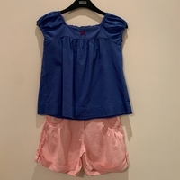 Used Okaidi Shorts & Blouse in Dubai, UAE