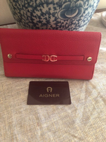 Used Aigner wallet used once  in Dubai, UAE