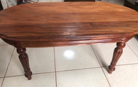 Used STRONG SOLID WOODEN COFFEE TABLE  in Dubai, UAE