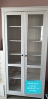 Used IKEA HEMNES Wooden cabinet glass doors in Dubai, UAE