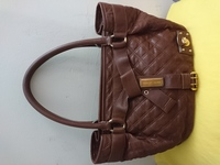 Used MARC JACOBS ITALY BROWN LEATHER TOTE BAG in Dubai, UAE