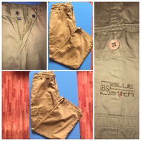 Used Boys Brown Pant with many pockets in Dubai, UAE
