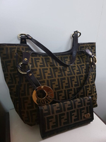 Authentic fendi bag with wallet