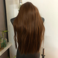 Used Silky Straight Natural Brown Hair in Dubai, UAE