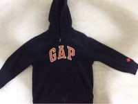 Used GAP SWEATSHIRT WITH HOOD SIZE 6-7 in Dubai, UAE