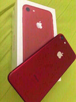 Iphone 7 128 GB In Red Color.
