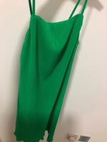 Used Zara Green Dress for Women Size M in Dubai, UAE
