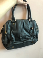 Used Oasis leather bag with strap in Dubai, UAE
