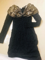 Used Dress black w/Golden design  in Dubai, UAE