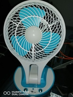 Used New Rechargeable fan with charger in Dubai, UAE
