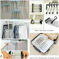 Stainless steel pant rack hanger