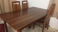 Used Dining table with 5 chairs  in Dubai, UAE