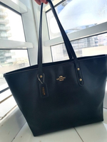 Used Preloved Black Coach Tote bag-Authentic in Dubai, UAE