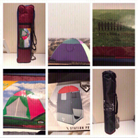 Used  bundle offer tents and camping shower in Dubai, UAE