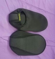 Used Quick dry what  shoes black. in Dubai, UAE