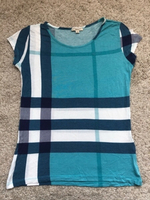 Used Burberry Blue T-Shirt  in Dubai, UAE