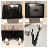 mens's flat square wallet