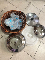 Used Lifs, 7 food containers & big basket in Dubai, UAE