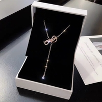 Used 925 sterling silver butterfly necklace in Dubai, UAE