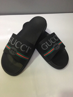 Used Gucci men's slippers size 42 new in Dubai, UAE
